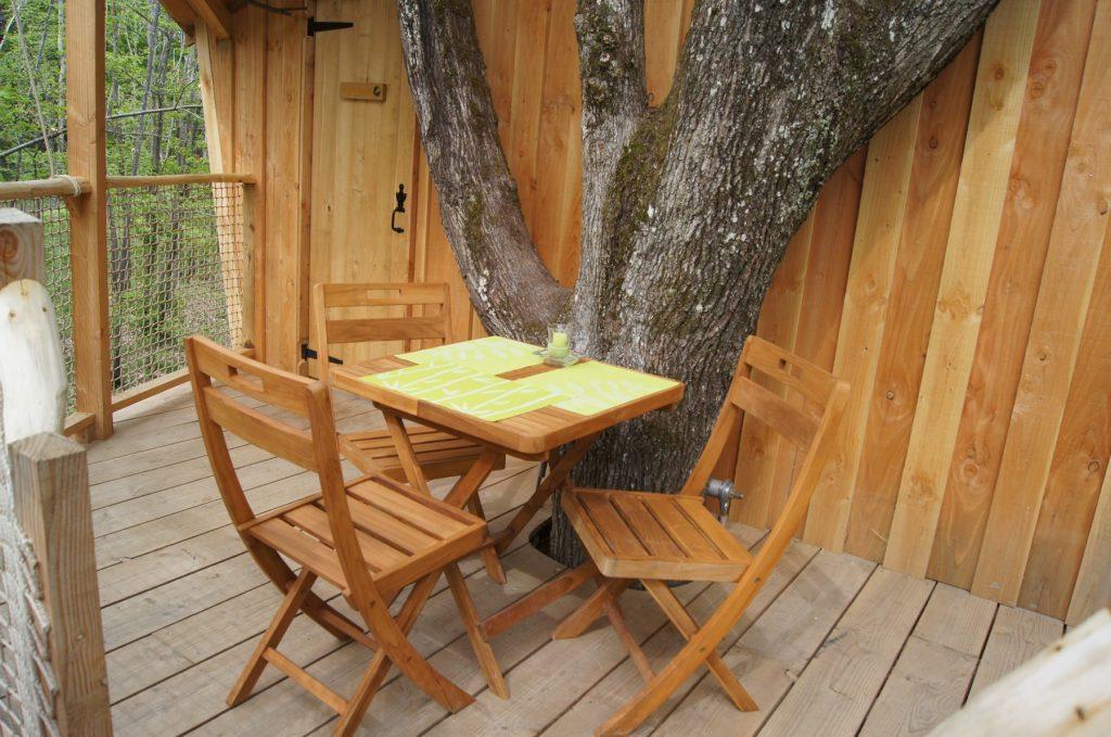 La pistache - La terrasse