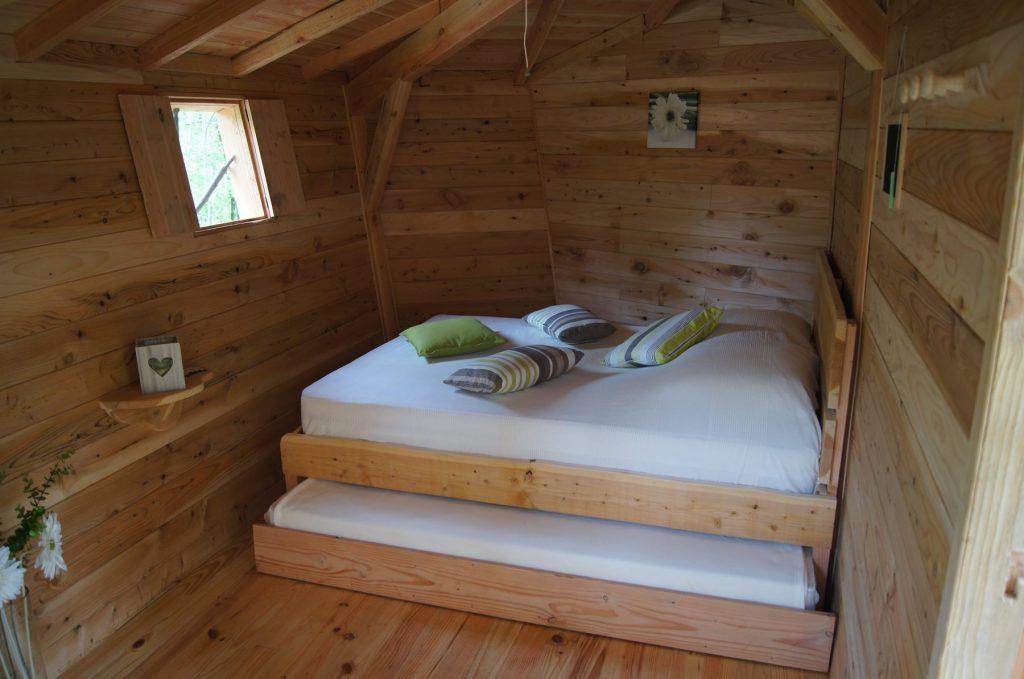 La pistache - Le lit