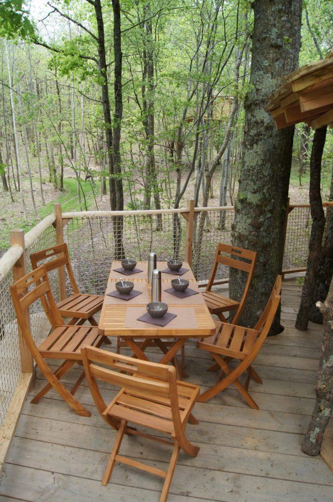 La noix - Cabane Familiale - Terrasse