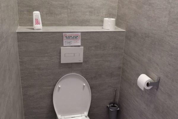 Toilette simple